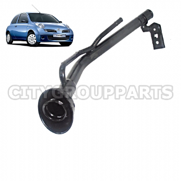 NISSAN K12E MODELS FROM 2003 TO 2010 MICRA PETROL FUEL NECK FILLER PIPE